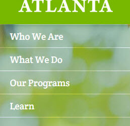 From TreesAtlanta.org: 50 Trees Around Town